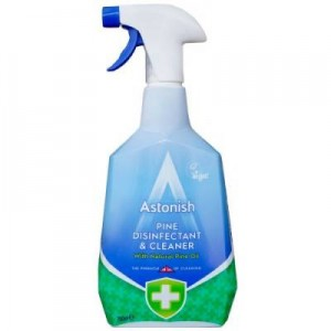 Astonish Pine Disinfectant & Cleaner Spray 750ml Dezynfekuje I czyści !