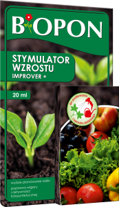 Biopon  stymulator wzrostu Improver+ 20 ml